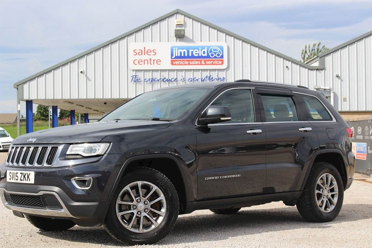 Used 2015 Jeep Grand Cherokee V6 Crd Limited Estate 3 0
