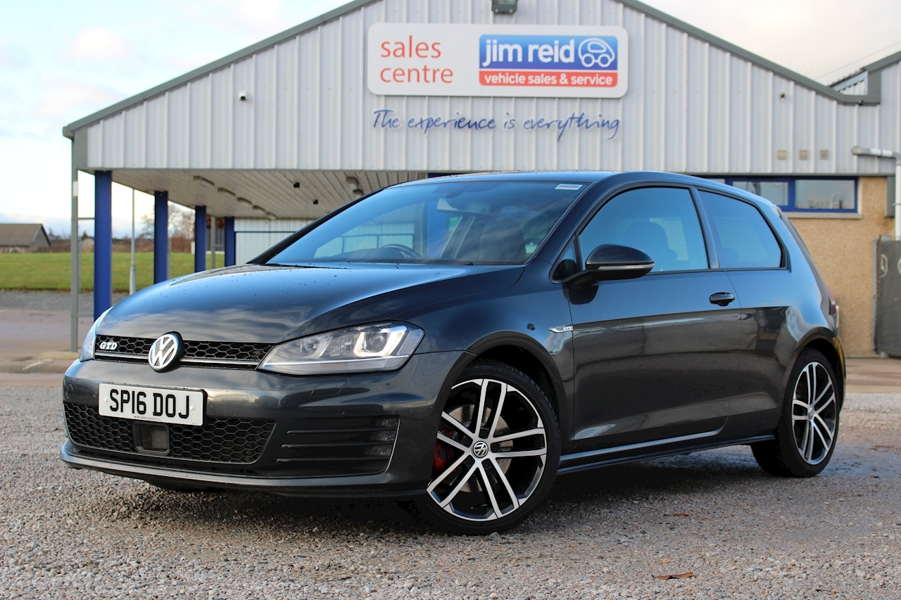 Volkswagen Golf Gtd Hatchback 2.0 Manual Diesel