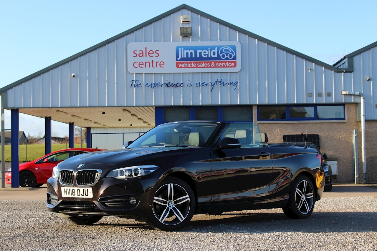 BMW 2 Series 218D Sport Convertible 2.0 Automatic Diesel