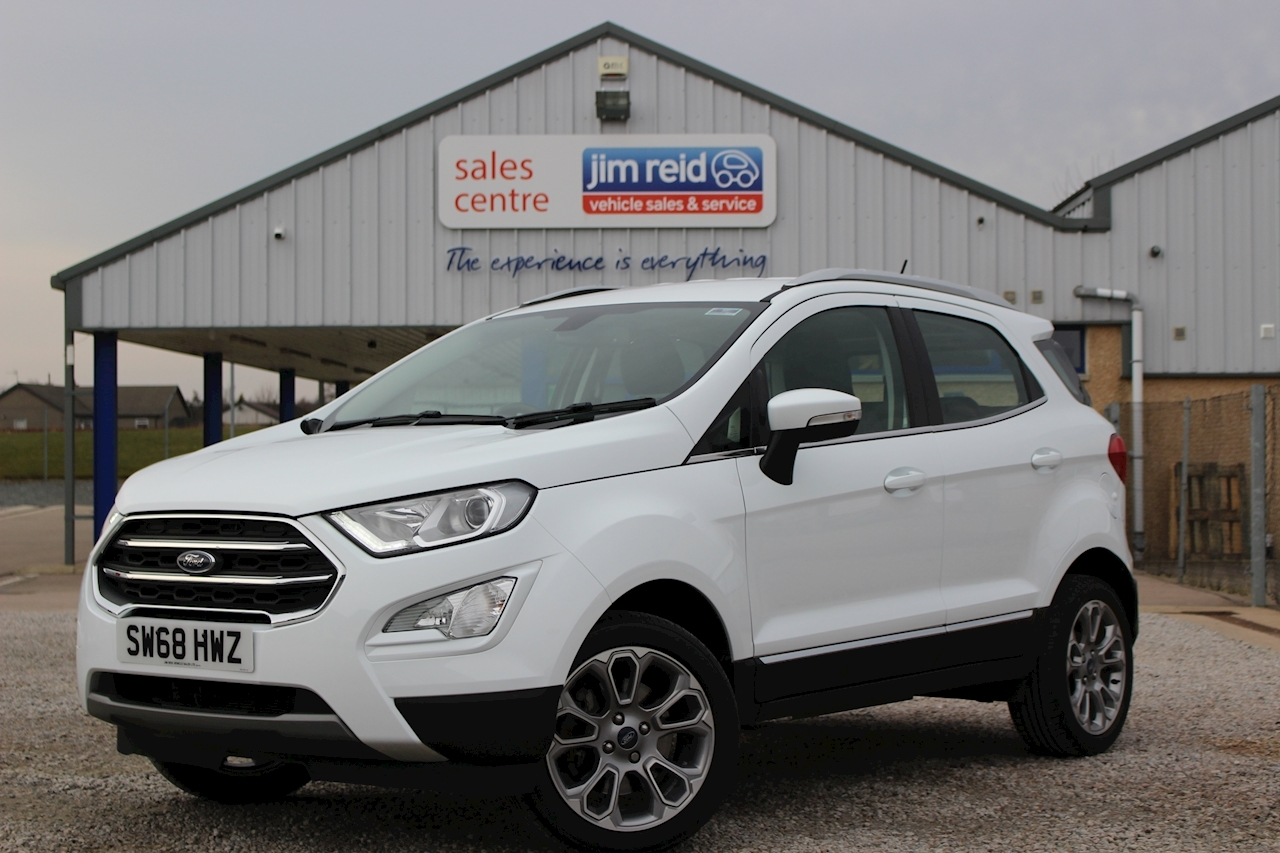 Ford Ecosport Titanium Hatchback 1.0 Manual Petrol