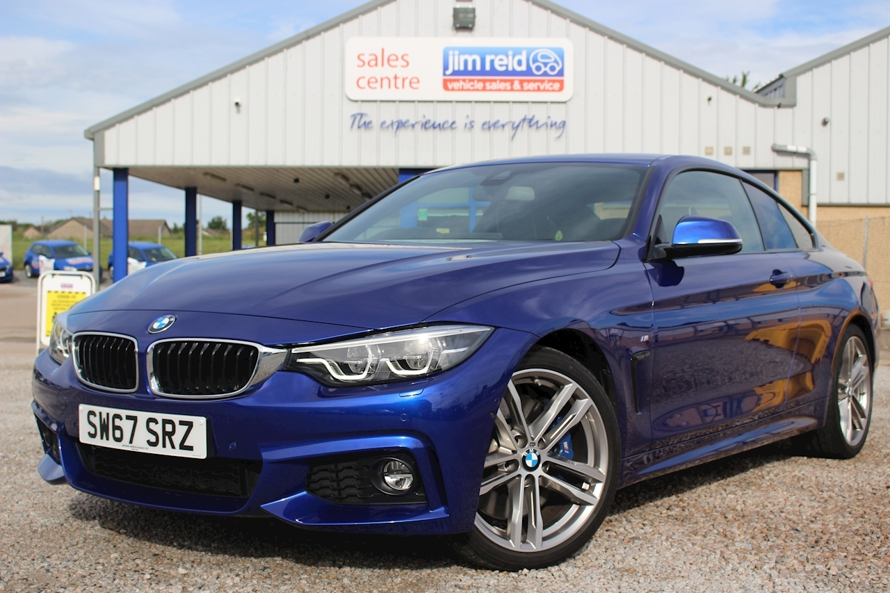 BMW 4 Series 440i M Sport Coupe 3.0 2dr Coupe Automatic Petrol