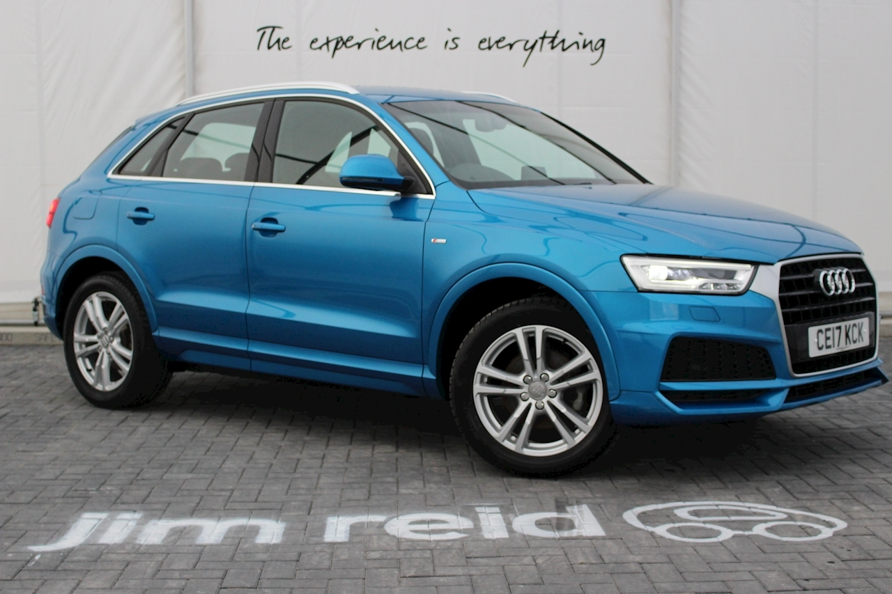 Audi Q3 Tfsi S Line Edition Estate 1.4 Manual Petrol