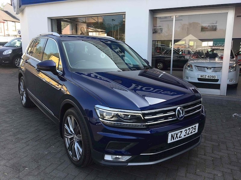 Volkswagen Tiguan Sel Tdi Bluemotion Technology Dsg