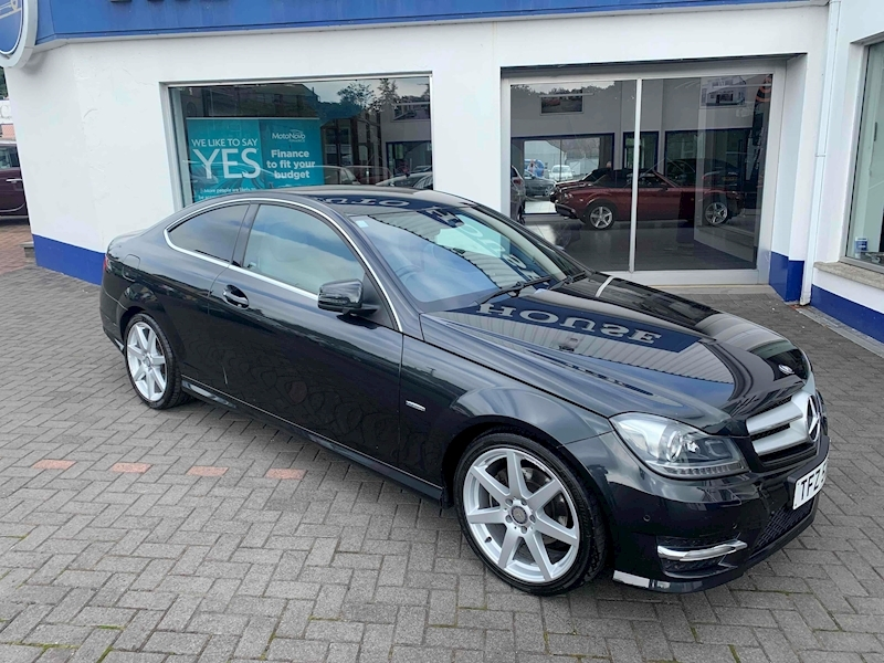 Mercedes-Benz C Class C220 Cdi Blueefficiency Amg Sport