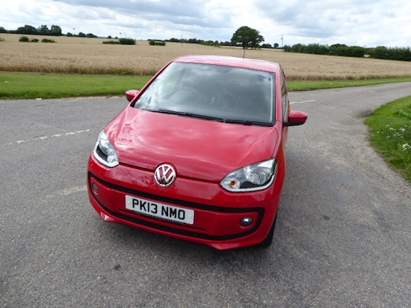Volkswagen Up High Up Bluemotion Technology