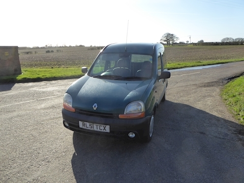 Renault Kangoo Authentique Mpv 1.4 Manual Petrol