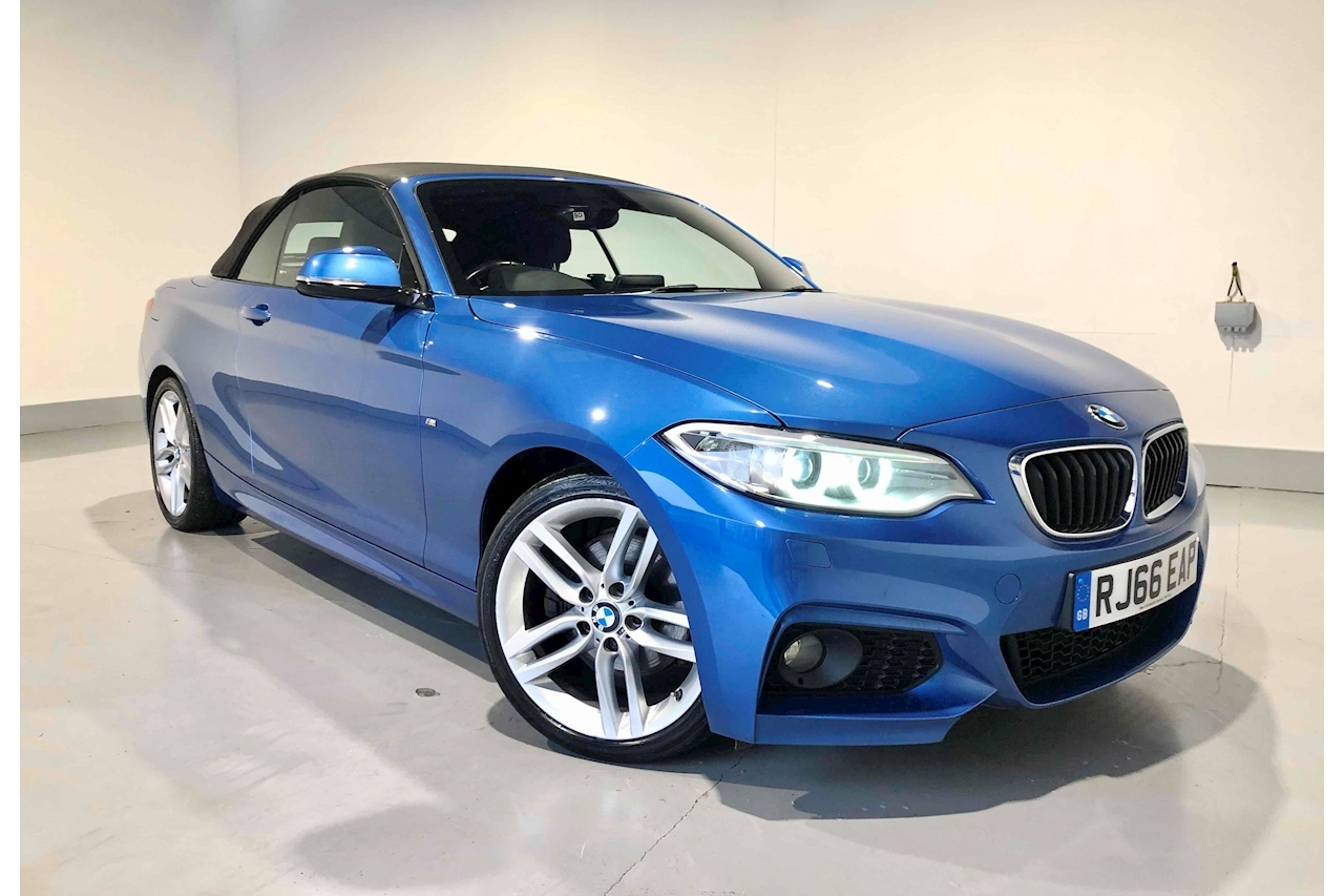 BMW 2 Series 225D M Sport Convertible 2.0 Automatic Diesel