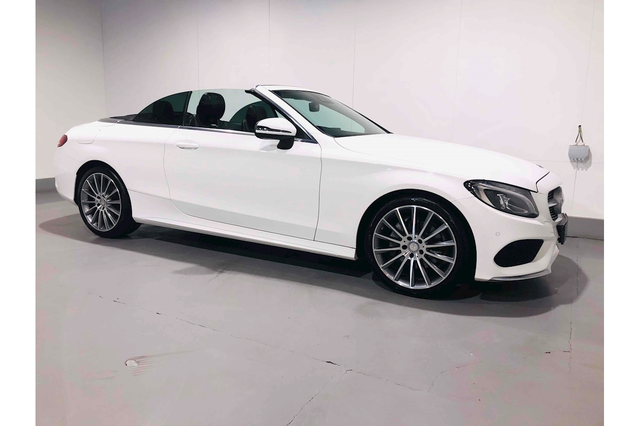 Mercedes-Benz C Class C 220 D Amg Line Convertible 2.1 Manual Diesel