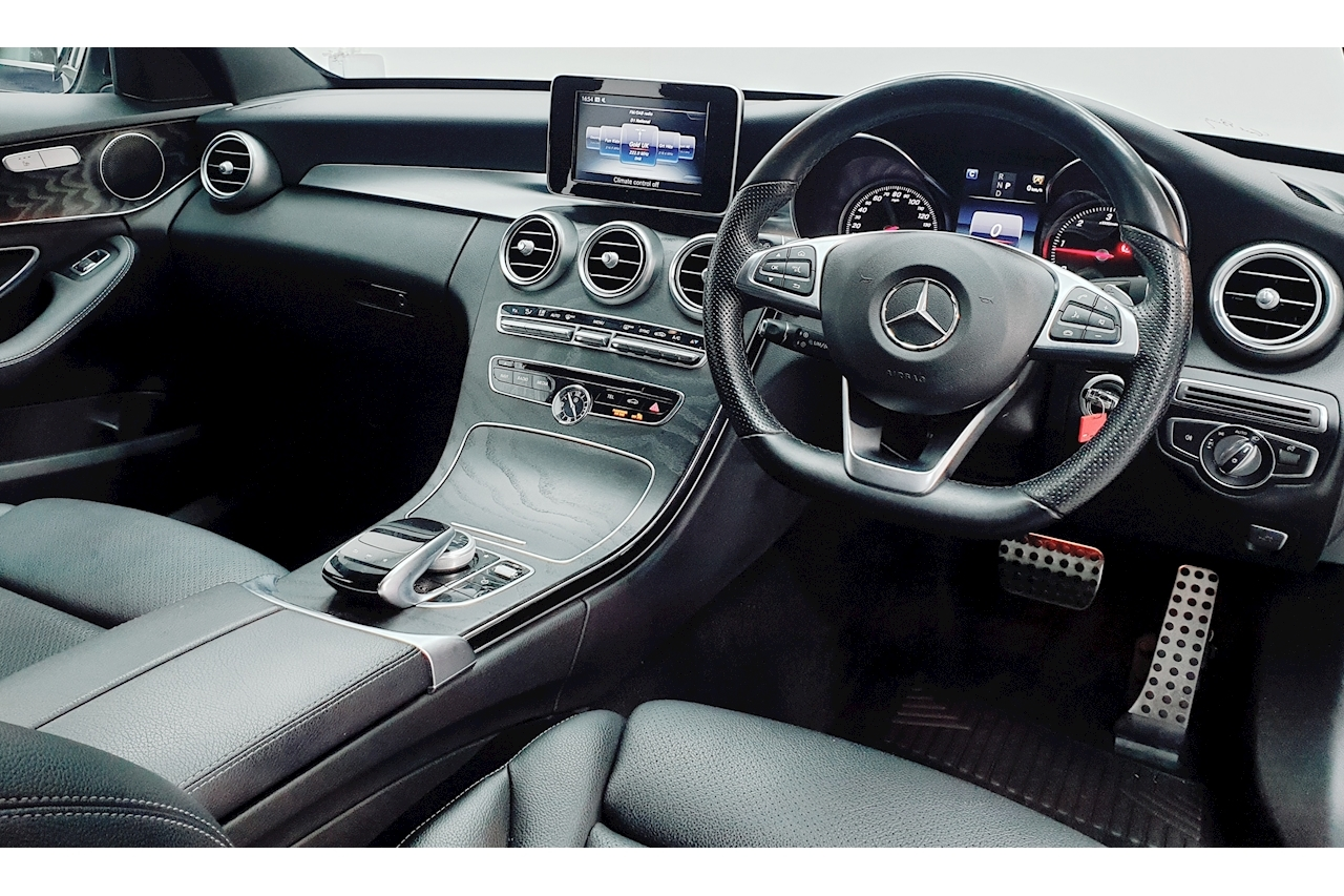 Mercedes-Benz C Class AMG Line Saloon 2.1 G-Tronic+ Diesel