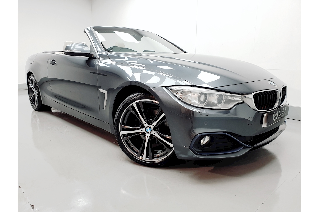 BMW 4 Series 420d Sport Convertible Convertible 2.0 Automatic Diesel