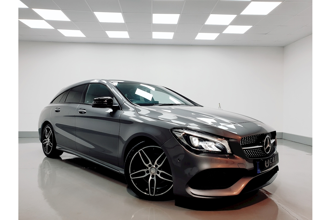 Mercedes-Benz CLA Class AMG Line Shooting Brake 2.1 7G-DCT Diesel