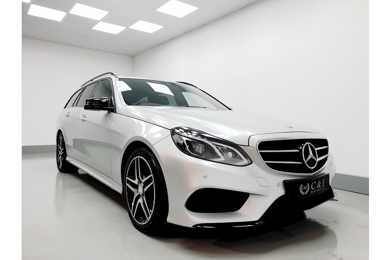 Mercedes-Benz 2.1 E250 CDI AMG Night Edition Estate 5dr Diesel 7G-Tronic Plus (145 g/km, 201 bhp)