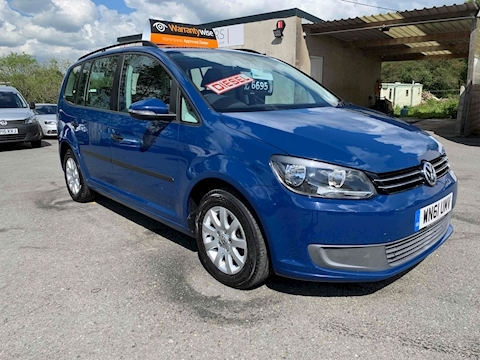 Touran S Tdi 1.6 5dr Mpv Manual Diesel