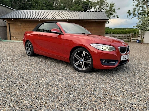 2 Series 220D Sport Convertible 2.0 Automatic Diesel