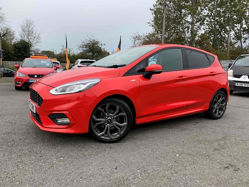 Ford 1.0T EcoBoost ST-Line Hatchback 5dr Petrol Manual (s/s) (100 ps)