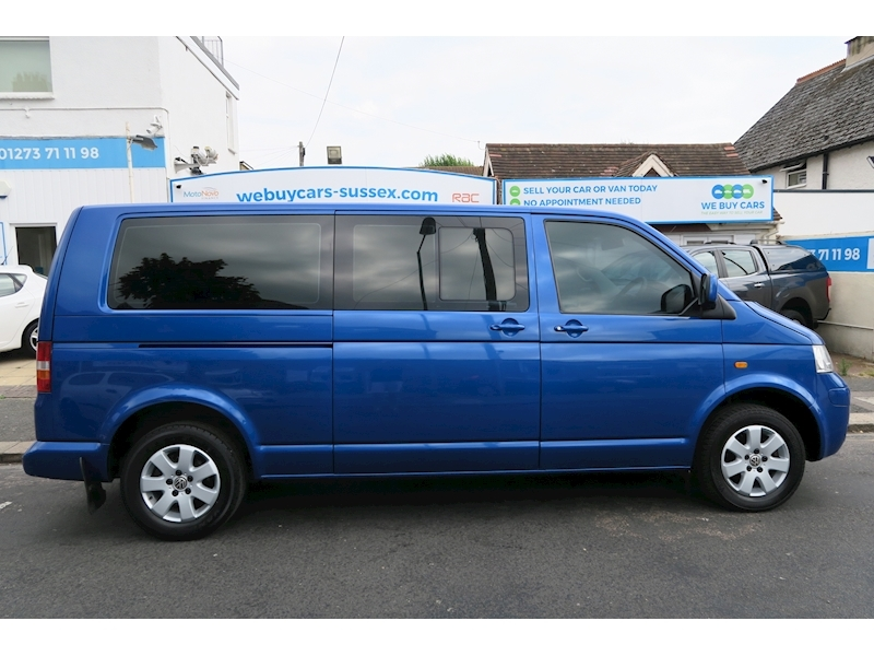 Transporter 2.5 Van With Side Windows Automatic Diesel