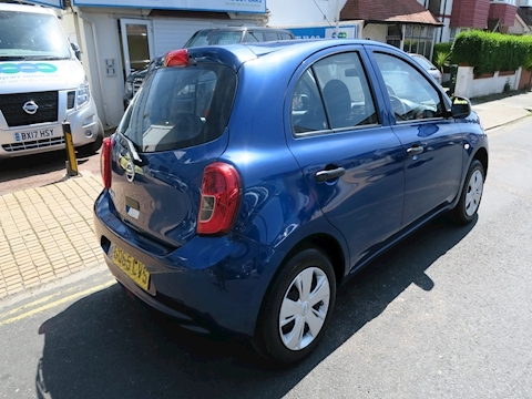 Micra Visia Hatchback 1.2 Manual Petrol
