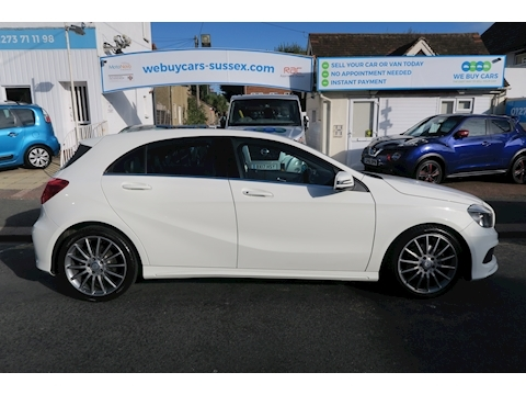 Mercedes A-Class A200 Cdi Blueefficiency Amg Sport