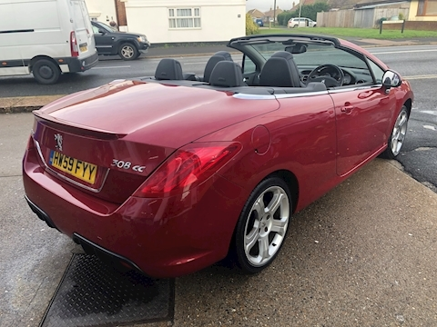 308 Cc Gt Convertible 1.6 Manual Petrol