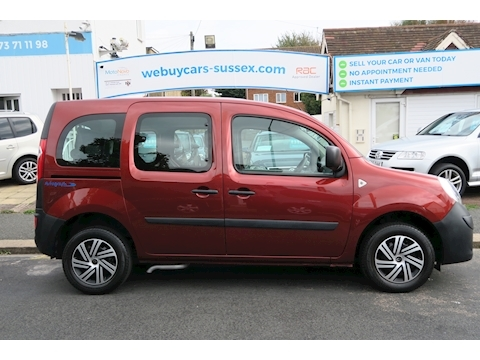Renault Kangoo Authentique 16V Wheelchair Access