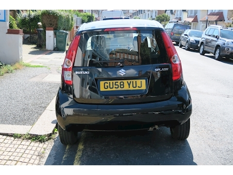 Splash 16V Hatchback 1.2 Automatic Petrol