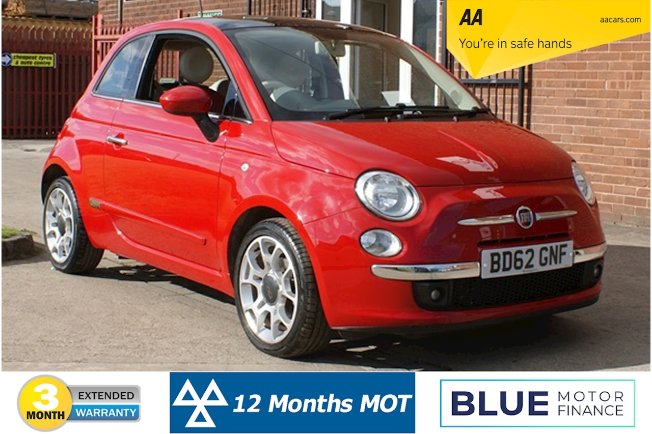 Fiat 500 500 Twinair Lounge 0.9 3dr Hatchback Manual Petrol