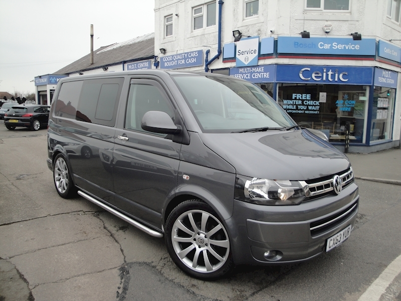 Customised Transporter Tailgate model T30 Tdi Kombi Highline 2.0 Van With Side Windows Manual Diesel
