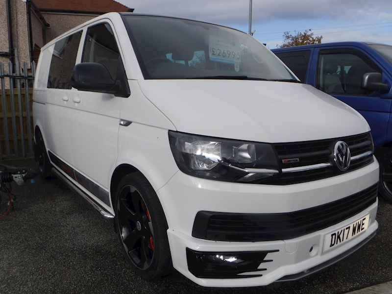 Transporter T32 Tdi W/V 4Motion Bmt 2.0 5dr Van With Side Windows Semi Auto Diesel