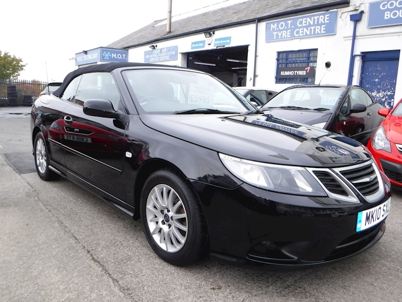 Saab 9-3 Tid Linear Convertible 1.9 Manual Diesel