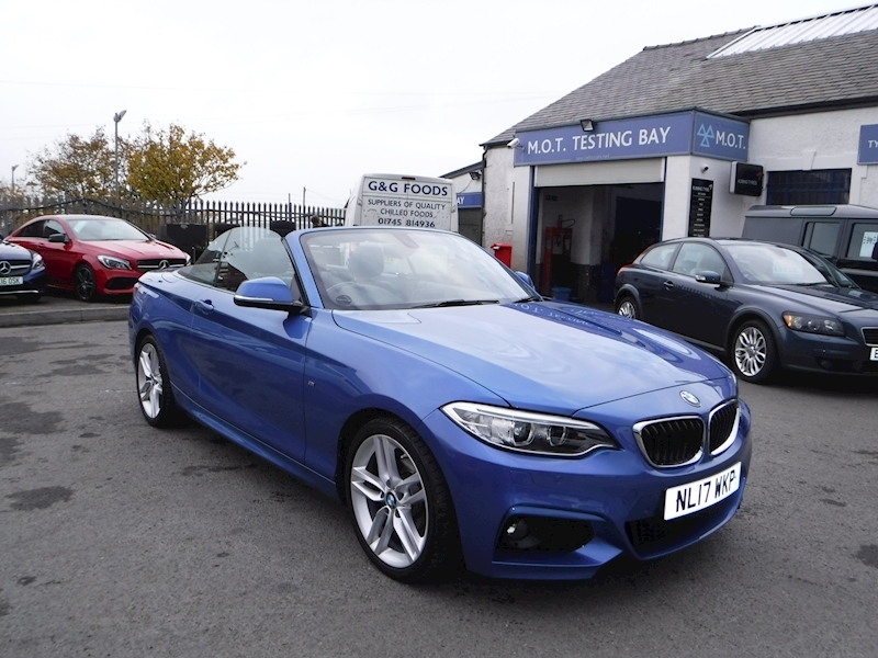 2 Series 218D M Sport Convertible 2.0 Automatic Diesel