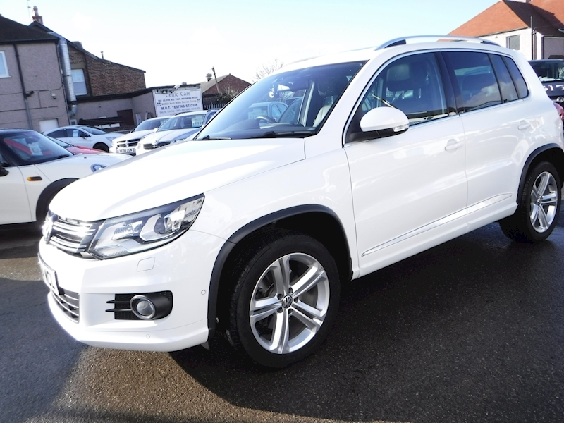 Tiguan R Line Edition Tdi Bmt 4Motion Estate 2.0 Manual Diesel