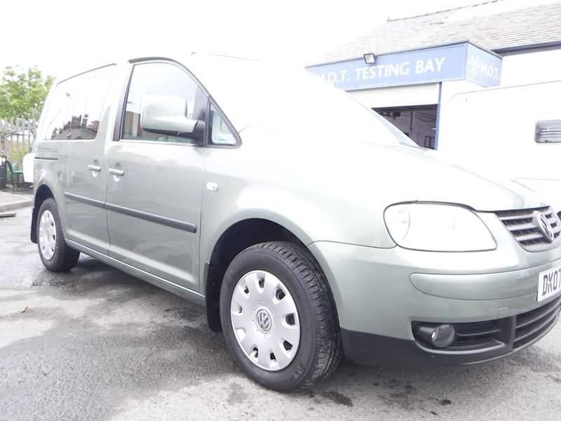Caddy Life Tdi Mpv 1.9 Manual Diesel