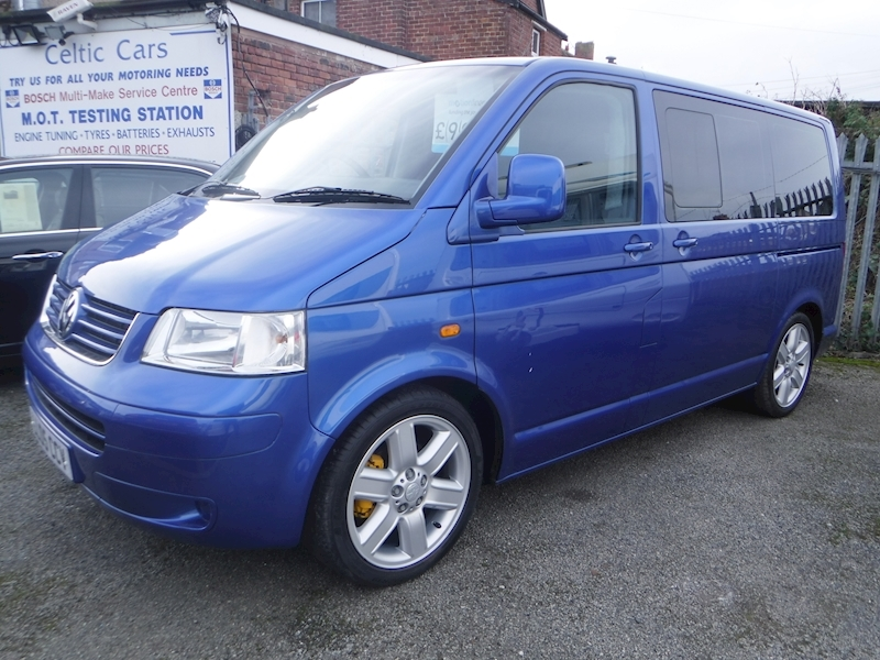 Transporter T30 Swb Shuttle Se 104Tdi Van With Side Windows 1.9 Manual Diesel