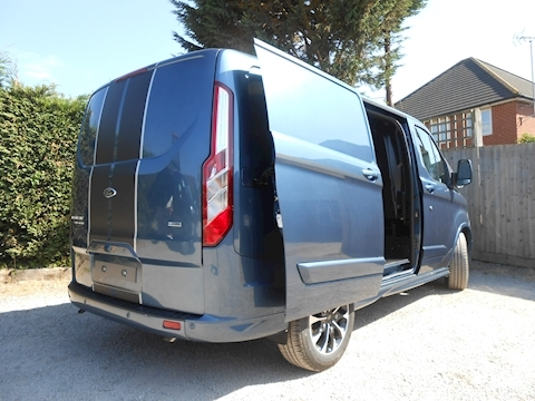 Transit Custom Sport New Model 310 L1 H1 2.0 170ps Euro 6 Automatic van - Dual Side doors & Tailagte - ICE Pack 21 1996 5dr Panel Van Automatic Diesel