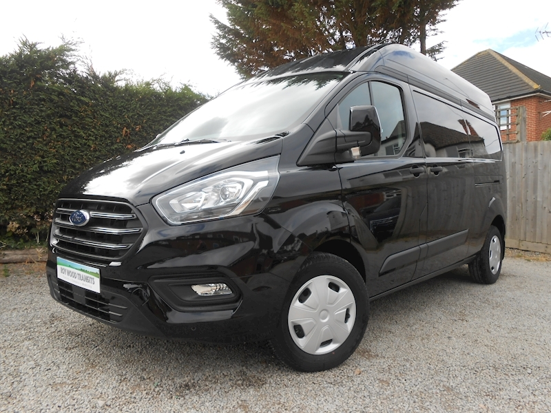 Transit Custom 320 L2 H2 Trend van 2.0 130ps Euro 6 - Cab Air con, Tablet ICE Media, Heated seats 1996 5dr Panel Van Six speed manual Diesel
