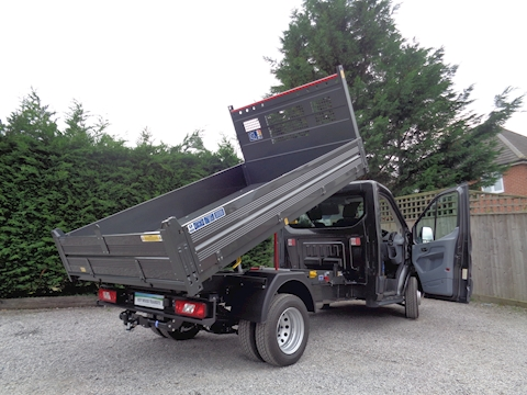 Ford Transit Bison Steel Floor/Alloy side Tipper 2.0 170ps Euro 6 Six speed 6,300kg gross train mass