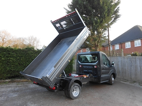 Ford Transit Bison Steel Floor/Alloy side Tipper 2.0 130ps Diesel Euro 6 Six speed 6,000kg GTM