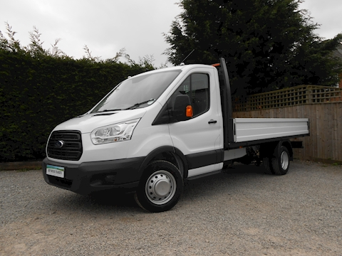 1393a6c697 Ford Transit 350 L4 EF Lwb 4.1m Dropside Truck 2.0 170ps Euro 6 Six speed