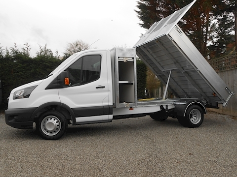 Ford Transit 350 L3 Toolpod Alloy Tipper 2.0 130ps Euro 6 Six speed