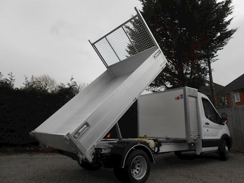 Transit 350 L3 Tool Box Alloy Tipper 2.0 130ps Euro 6 Six speed Tipper 1995 Six speed manual Diesel