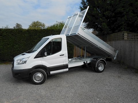 Ford Transit 350 L2 Mwb Alloy Tipper 2.0 170ps Euro 6 Six Speed Delivery miles