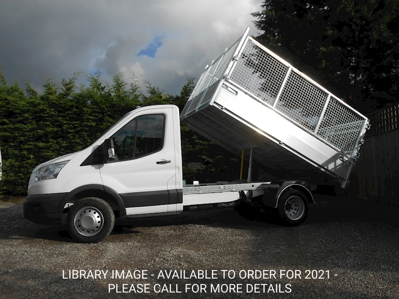 Transit 350 L2 Mwb Alloy Tipper with removable cage sides and rear doors. 2.0 170ps Euro 6 Six speed. Tipper 1995 6 Speed Diesel