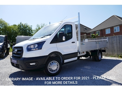 Ford Transit 350 L4 Lwb Alloy Double Dropside Truck 2.0 130ps Six speed