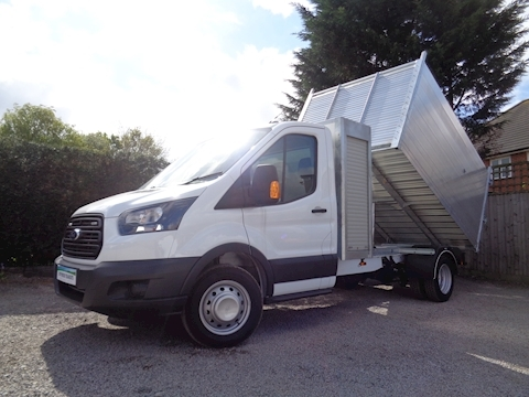 Ford Transit 350 L3 Toolpod Arb Alloy Tipper 2.0 170ps Euro 6 Six speed Cab Air con