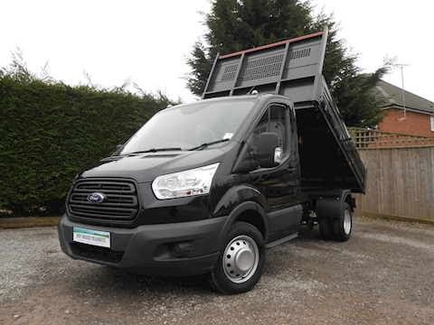 Ford Transit 350 L2 Mwb Bison Tipper Black 2.0 130ps Euro 6 Diesel