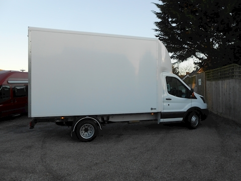 Transit L4 EF Lwb Luton 4.1m load length 2.0 130ps Euro 6 Six speed 1995 2dr Luton Six speed Diesel