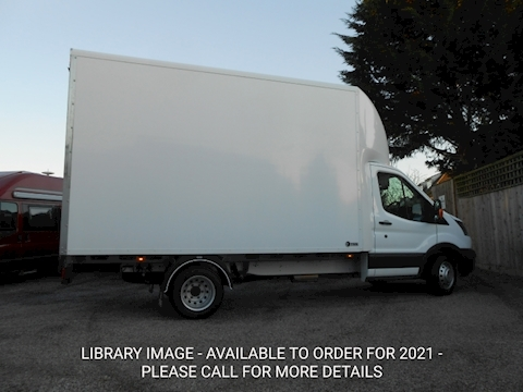 Ford Transit L4 EF Lwb Luton 4.1m load length 2.0 130ps Euro 6 Six speed