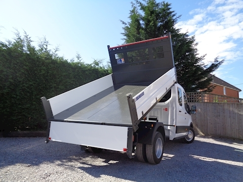 Transit 350 L3 Lwb Double / Crew Cab Bison Tipper 2.0 170ps Euro 6 6,300kg Gross train mass 1997 4dr Tipper Six spped manual Diesel