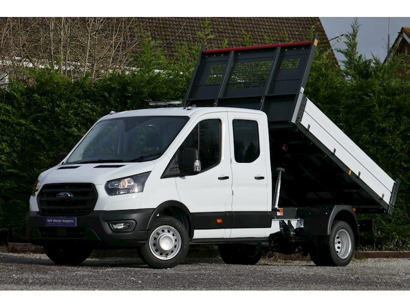 Transit 350 L3 Lwb Double / Crew Cab Bison Tipper 2.0 130ps Euro 6 6,500kg train mass for towing 1997 4dr Tipper Six speed manual Diesel