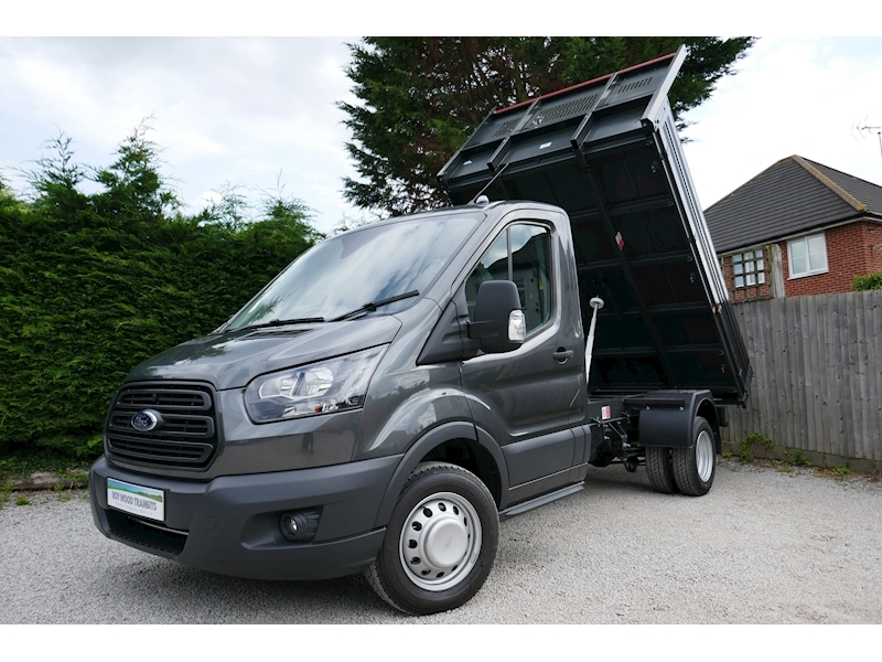 Transit 350 L2 Bison Tipper 170ps Euro 6, Air Con & 6,500kg train mass 1996 2dr Tipper Six speed manual Diesel
